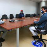 Alcalde Altamirano apoyará pedidos de Santa Rosa