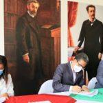 Convenio interinstitucional para enfrentar al Covid-19 en Ambato