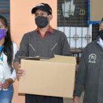 Municipalidad entrega kits a hogares con vulnerabilidad