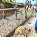 Municipalidad construye sistema de agua potable y alcantarillado en Illagua Grande