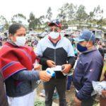 Municipalidad entrega mascarillas a comunidades rurales del cantón.