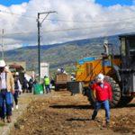 Construcción de 27 vías locales inicia en el Barrio Solís