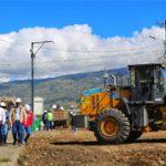 Empieza pavimentación de 24 vías en el Parque Industrial por 2,6 millones