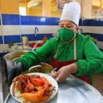 La comida tradicional regresa al mercado central