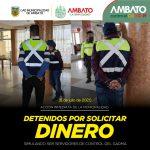 Acción inmediata de la Municipalidad frente la detención de 3 sospechosos de presuntos delitos de usurpación y simulación de funciones públicas y extorsión.