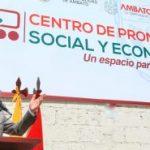 Alcalde inaugura Centro de Promoción Social y Económico