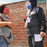 Brigadas Municipales tomaron pruebas Covid-19 en la Simón Bolívar y Augusto Nicolás Martínez