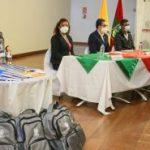 Municipalidad de Ambato entrega 2000 kits estudiantiles a la niñez y juventud de grupos vulnerables.