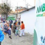 Municipalidad de Ambato realiza pruebas COVID-19 en parroquias rurales