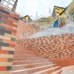 Mural ecológico une a la 13 de Abril con la Yahuira