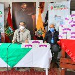 Municipalidad entrega 1.500 pruebas Covid -19 al Hospital Docente Ambato