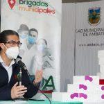 Municipalidad entrega 750 pruebas rápidas para COVID -19 al Hospital del IESS