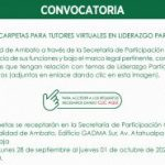 Convocatoria Tutores