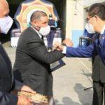 Emotiva ceremonia de jubilación de agentes de control municipal