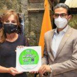 Municipalidad promueve la campaña 'Ambato destino bioseguro'