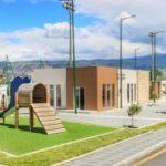 Municipio de Ambato invierte 550.000 dólares en el Complejo Deportivo de San Vicente de la Parroquia Pishilata.