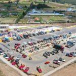 Feria agrícola de Unamuncho facilita el comercio a productores