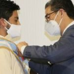 261 abanderados homenajeados por Ambato