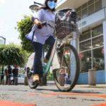 Ciclovías y zonas peatonales impulsa la Municipalidad.