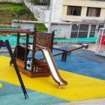 Barrio La Floresta tiene una nueva área recreativa.