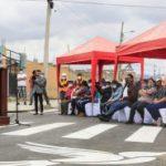 Municipalidad de Ambato entrega obra vial en el Barrio Solís