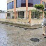 Municipalidad invierte 387 mil usd. para rehabilitar y adoquinar 11 pasajes en barrios de Ambato.