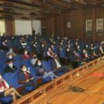 Premiaron creatividad y decoración navideña en la Municipalidad de Ambato
