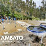 Pilahuín recibe alcantarillado y planta de tratamiento para más de tres mil personas