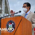 Cuerpo de Bomberos Ambato celebró 70 años de vida institucional.
