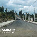 Avenida Loeffler mejorará la vialidad en la parroquia Pishilata