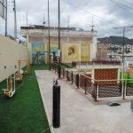 Alcalde entrega renovada área comunal del barrio Los Andes