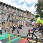 Ambateños se movilizan en bicicleta y a pie por su salud