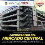 Viernes se entrega moderno parqueadero con capacidad para 275 vehículos