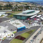 Alcalde entrega al servicio del país la nueva Terminal Terrestre Sur de Ambato