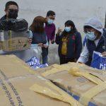 Municipalidad de Ambato envía insumos de bioseguridad a Riobamba.