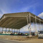 Avanza construcción de patio de comidas y baterías sanitarias en mercado San Juan