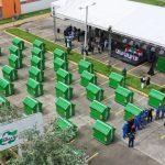 Alcalde entregó a la ciudad 490 nuevos contenedores para la recolección de basura