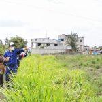 Alcalde visitó el barrio Ortiz la Y de Pishilata para atender sus requerimientos