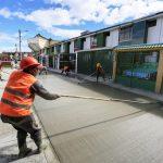 21 kilómetros de aceras están al servicio de la zona alta de la ciudad