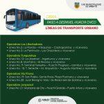 Redistribuyen líneas de tránsito urbanas en la avenida Atahualpa