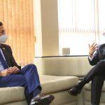 Municipalidad de Ambato y la ARCSA dialogan sobre las vacunas Covid-19