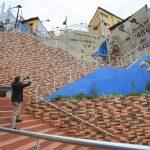 Mural ecológico de la Yahuira como atractivo turístico de Ambato