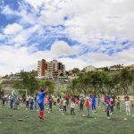 560 personas iniciaron los talleres deportivos gratuitos de la Municipalidad de Ambato