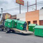 210 contenedores nuevos  fueron ubicados en distintos barrios de Ambato