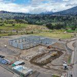 Construcción del Centro de Revisión Técnica Vehicular de Ambato avanza a buen ritmo