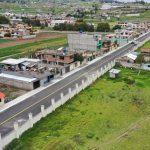 Alcalde entrega nueva obra vial en el barrio Héroes del Cenepa de Izamba
