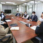 Alcalde analiza creación de una ruta especial para el transporte intercantonal