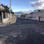 Municipalidad ejecuta asfaltado en tres calles del barrio Solís y La Joya
