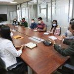 Alcalde canaliza pedidos de la directiva de los barrios Sur Oriente y Letamendi Alto