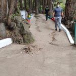 Campaña 'Mi Barrio Bonito y Seguro' mejora la imagen del parque 'El Sueño'